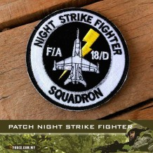 PATCH NIGHT STRIKE FIGHTER WITH VELCRO - patch2021