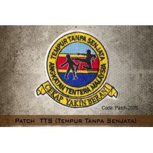 PATCH TTS (Tempur Tanpa Senjata)(VELCRO) - PATCH2025