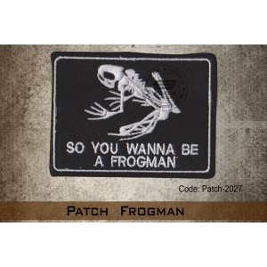 PATCH FROGMAN(VELCRO) - PATCH2027