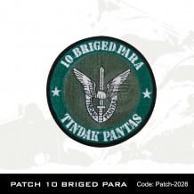 10th Brigade Para patch