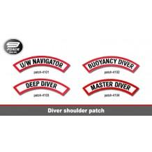 Diver Shoulder Patch - patch4101
