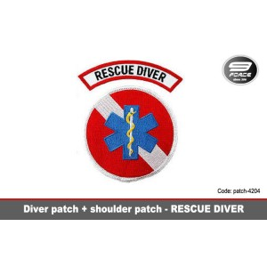 RESCUE DIVER PATCH - patch4204