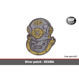 Dive Patch-Scuba - patch4207