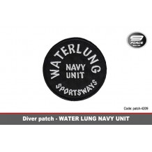 Water Lung Navy Unit Patch
