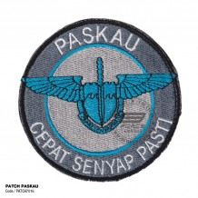 MILITARY EMBROIDERY PATCH PASKAU, VELCRO - PATCH7016