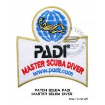 Patch PADI - MASTER SCUBA DIVER (patch-6211)