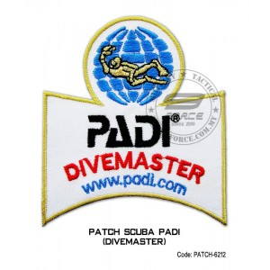 Patch DIVER PADI - DIVERMASTER (patch6212)
