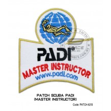 Patch DIVER PADI - MASTER INSTRUCTOR (patch6213)