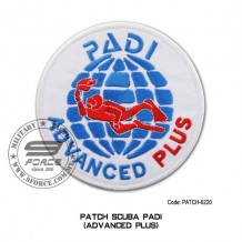 "Patch DIVER PADI - ADVANCED PLUS 4"" (patch6220)"