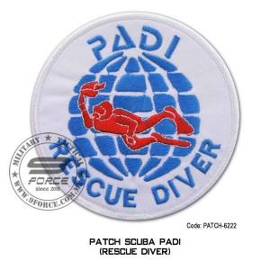 "Patch DIVER PADI - RESCUE DIVER 4"" (patch6222)"