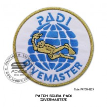 "Patch DIVER PADI - DIVERMASTER 4"" (patch6223)"