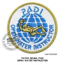 "Patch DIVER PADI - OPEN WATER INSTRUCTOR 4"" (patch6224)"