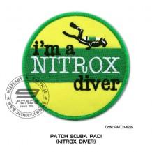 "Patch DIVER PADI - NITROX DIVER 4"" (patch6226)"