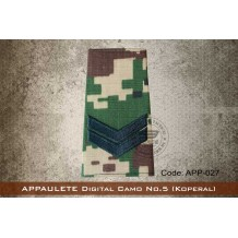 APPAULETE Digital Camo No.5 (KOPORAL) - app027