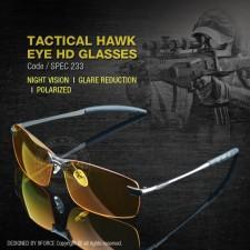 TACTICAL HAWK EYE HD GLASSES - SPEC233