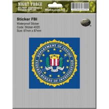 Sticker - FBI - STICKER-4020M