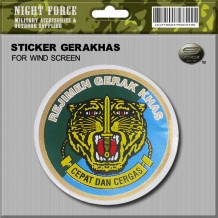 Sticker Windscreen - GERAKHAS - sticker1006M