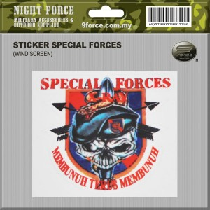 STICKER SPECIAL FORCES - STICKER1013