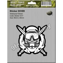 Sticker DIVER - sticker1017