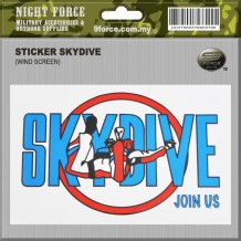 Sticker Skydive - STICKER2017