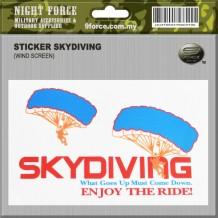 Sticker Skyding - STICKER2018