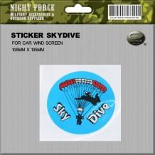 Sticker Skydive - STICKER2019