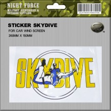 Sticker Skydive - STICKER2020