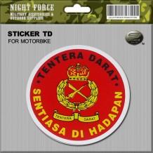 STICKER TD(FOR MOTOR BIKE) - STICKER3023