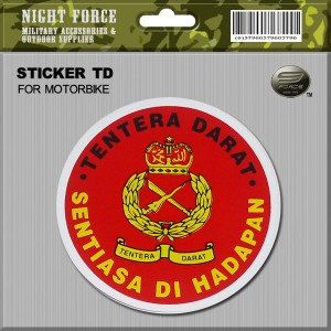 STICKER TD(FOR MOTOR BIKE) - STICKER3023