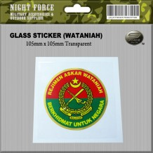 Sticker WATANIAH (Wind Screen)
