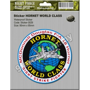 Sticker - HORNET WORLD CLASS - STICKER-3029M