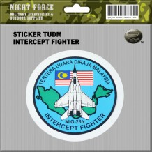 STICKER TUDM INTERCEPT FIGHTER - STICKER3031