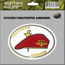 STICKER PARATROOPER AIRBORNE - STICKER3032