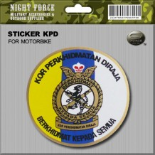 STICKER KPD(FOR MOTORBIKE) - STICKER3036