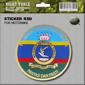 STICKER RSD(FOR MOTORBIKE) - STICKER3037