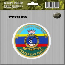 STICKER RSD(FOR CAR WIND SCREEN) - STICKER3038