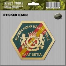 STICKER RAMD(FOR MOTORBIKE) - STICKER3039