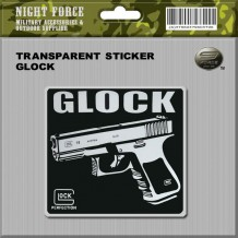 Transparent Sticker Glock
