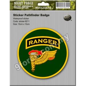 Sticker - RANGER PATHFINDER - STICKER-9211M