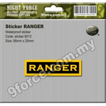 STICKER RANGER - Sticker9212