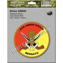 Sticker Windscreen - KOR ARMOR DIRAJA - STICKER-9400C