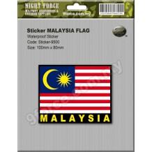 Sticker MALAYSIA FLAG - STICKER9500