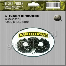 STICKER AIRBORNE - STICKER3046