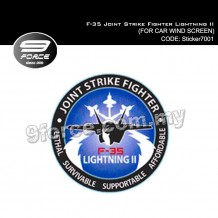 Sticker Car Wind Screen F-35 Joint Strike Fighter Lightning II - Sticker7001