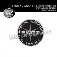 Sticker Car Wind Screen SPECIAL WEAPONS AND TACTICS - Sticker7011