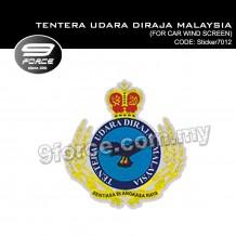 Sticker Car Wind Screen Tentera Udara Diraja Malaysia (sticker7012)