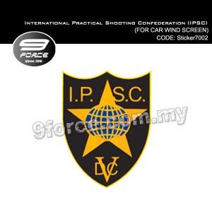 Sticker - International Practical Shooting Confederation (IPSC) - STICKER-7002M