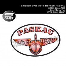 Sticker Car Wind Screen Paskau (STICKER7018)