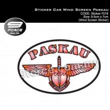 Sticker Car Wind Screen Paskau (STICKER7018)