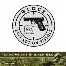 CAR STICKER, WIND SCREEN, GLOCK (STICKER7022)